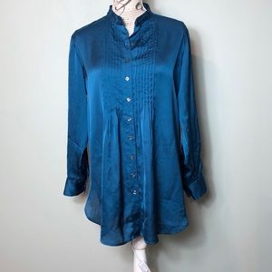 NWT Kenneth Cole Reaction long blouse tunic size 4
